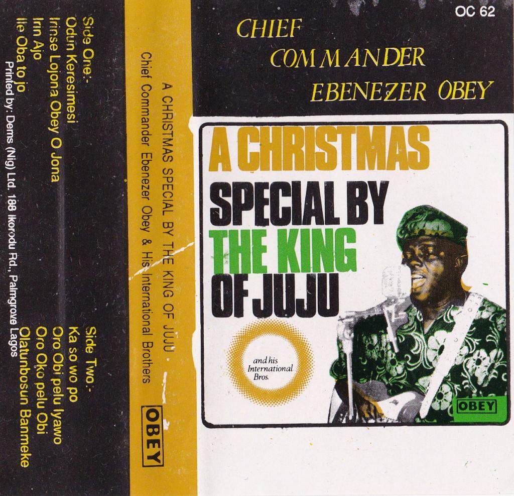 Chief Commander Ebenezer Obey