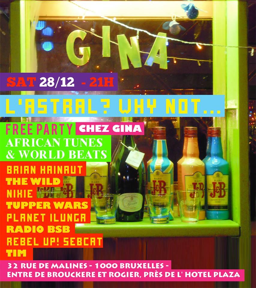 Party chez gina